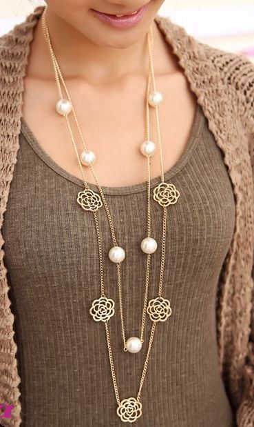 Funky Long Necklaces