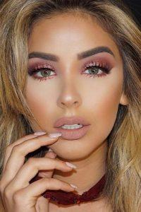 Light Pink Makeup Looks