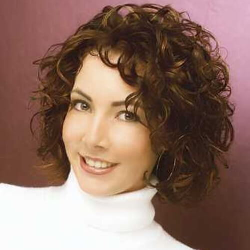 Low Maintenance Short  Hairstyles For Curly Hair