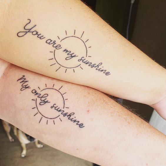 Meaningful Mother Daughter  Tattoos