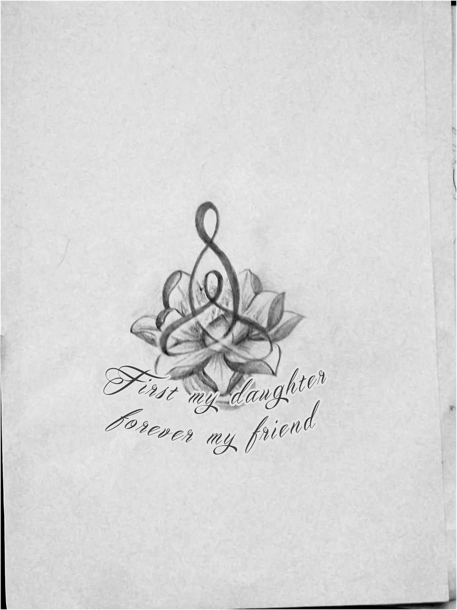 Mother Daughter Tattoo Designs