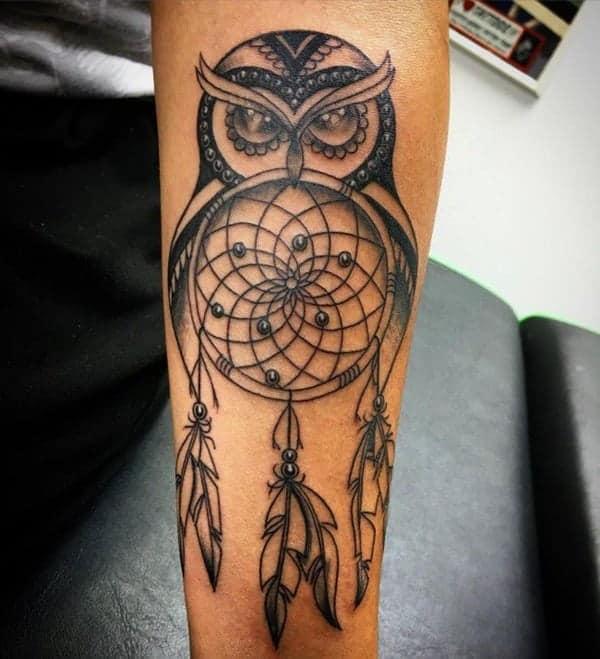 Owl Tattoo Design Ideas