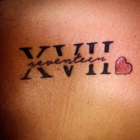 Roman Numeral Tattoo Ideas