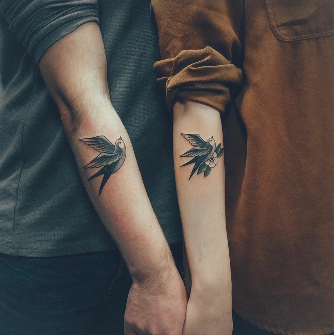 Small Couple Tattoo