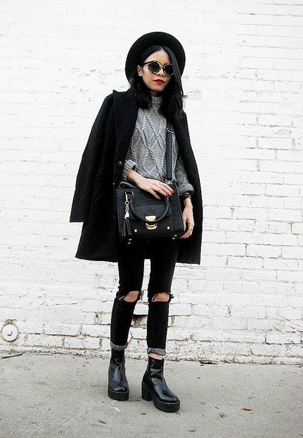 Stunning Winter Coat Styling Ideas
