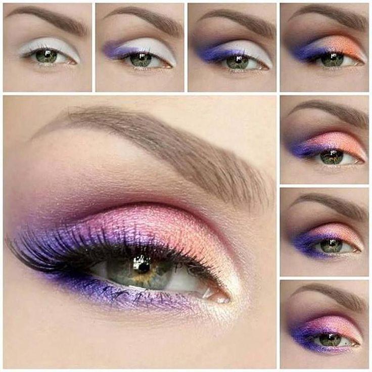 Stylish DIY Summer Eye Makeup