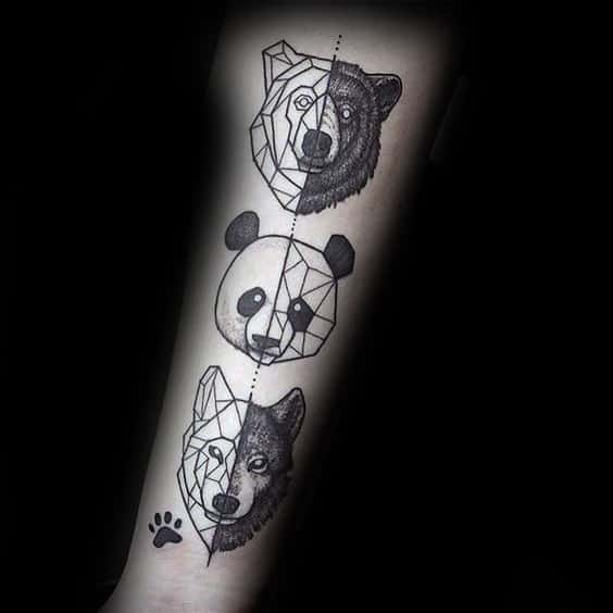 Unique Panda Bear Tattoo Ideas